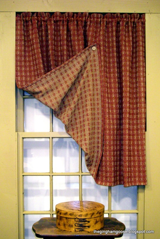 32 Best Colonial Curtains Images On Pinterest