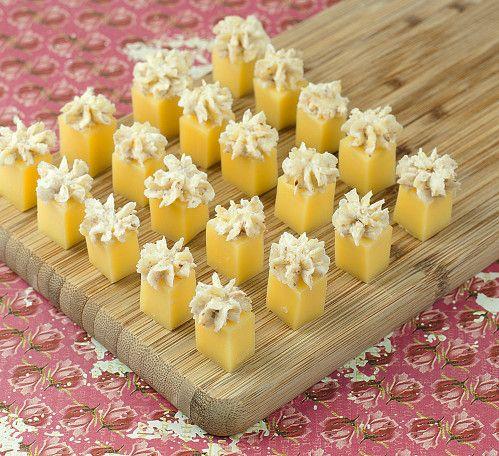 Comté à la crème de noix: recette apéritive - Et si c'était bon... par Mamina