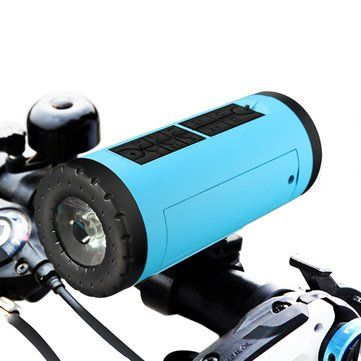 Only US$26.18, buy best Outdoor Bluetooth Speaker Bicycle Portable Music Player Wireless Powerbank Waterproof Flashlight sale online store at wholesale price.US/EU warehouse.