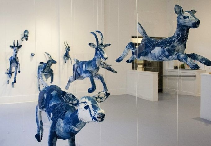 Sculptures by Tasha Lewis -  Moments of Thaw