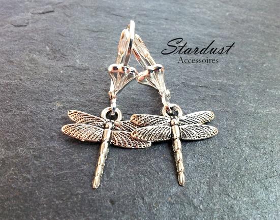 Ohrringe ✿ kleine Libelle ✿