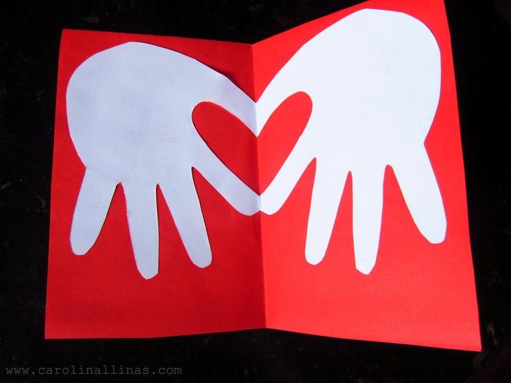 Paso a paso: Tarjeta de Corazón!!