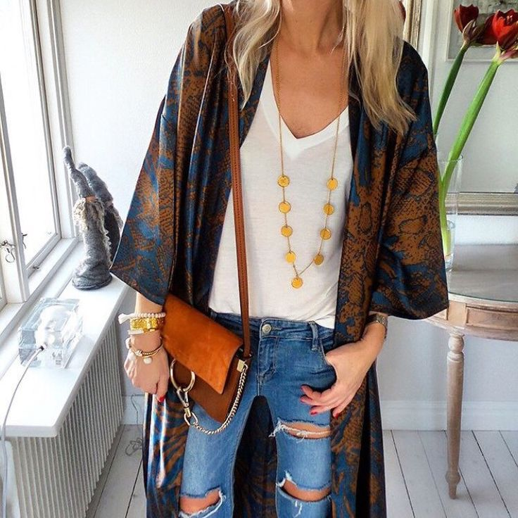 How to wear our boho coin necklace.
