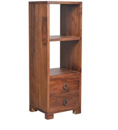 San Pablo Two Drawer Book Shelf  in Provincial Teak Finish by Woodsworth