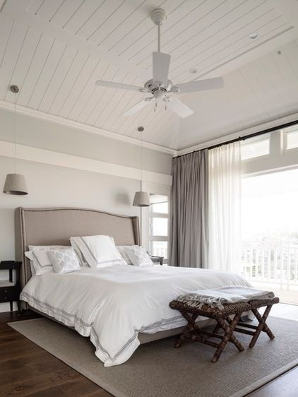 Beach Style Bedroom by Walter Barda Design