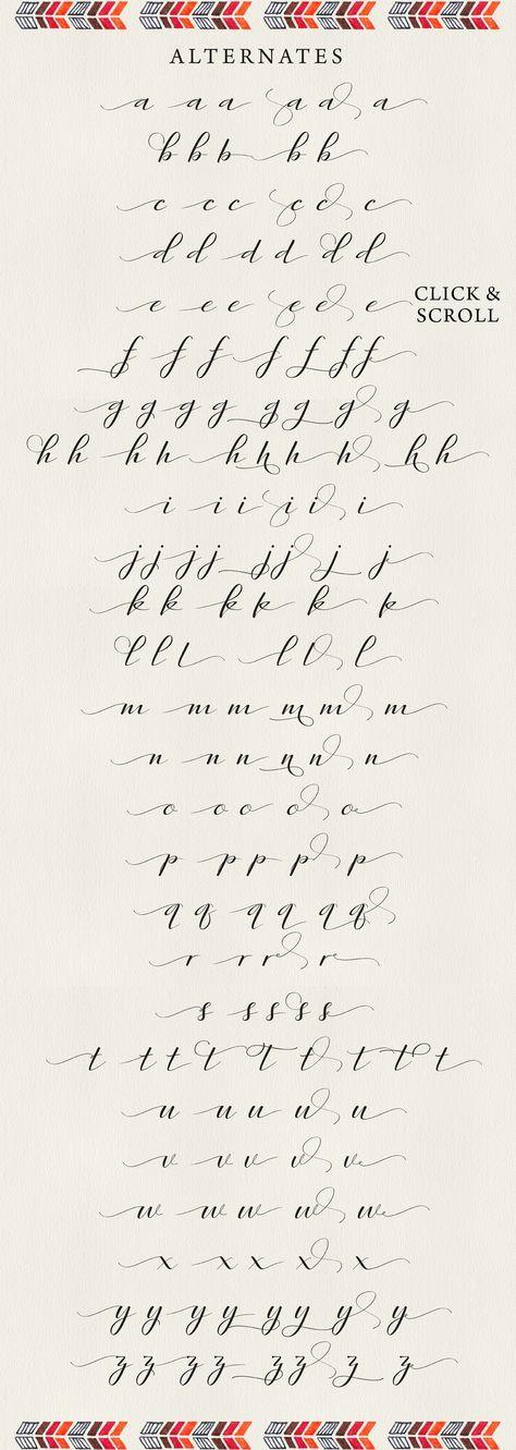 Rambies – Handwritten Calligraphy by Get Studio on Creative Market