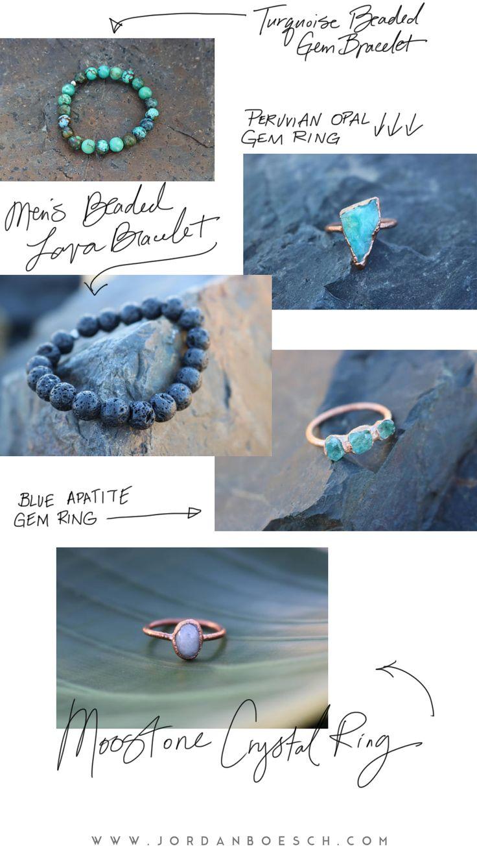 CRUSHING ON // HANDCRAFTED GEMS SHOP - gorgeous handmade artisan jewelry
