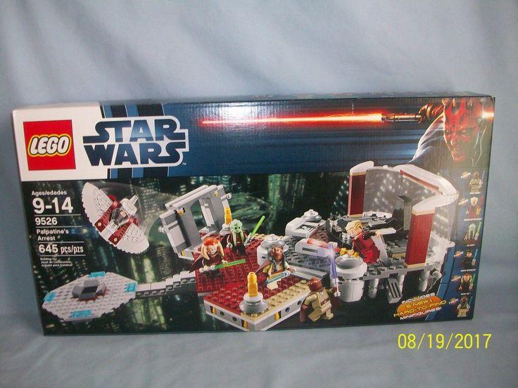 Lego Set 9526 Palpatines Arrest STAR WARS FACTORY SEALED NEW Agen Kolar Windu