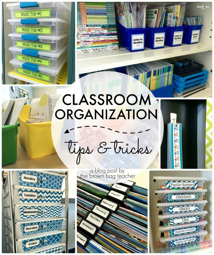 organization and homework