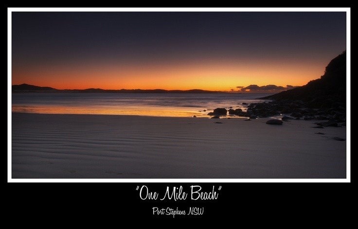 One Mile Beach Port Stephens NSW  Landscapes - Shane Russell Photography
