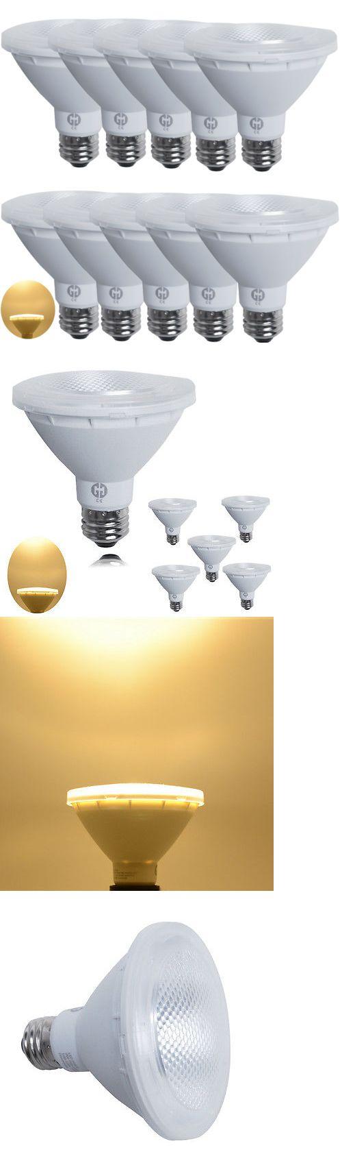 Light Bulbs 20706 10 Pack Bright 9W Par30 E26 Led Spotlight Lamp