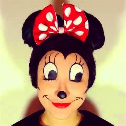 Kids Parties - Imagine Parteas: Minnie Mouse face painting