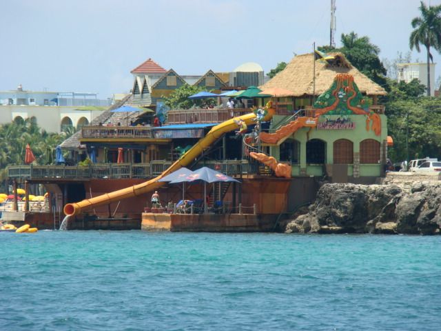 Margaritaville, Montego Bay, Jamaica!  Jimmy's flagship store on the Hip Strip.. Montego Bay.. I'll be there in 72 days!! :)