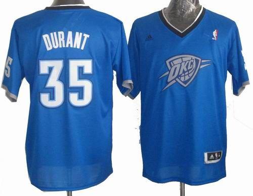 d3495dc02 oklahoma city thunder 35 kevin durant blue white resonate fashion jersey