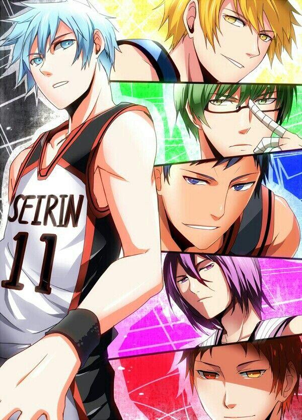 黑子的籃球 Koroko no basket Animasi dan Kuroko no basket