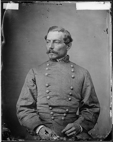 General P. G. T. Beauregard, Confederate States Army (Mathew Brady, c. 1862).