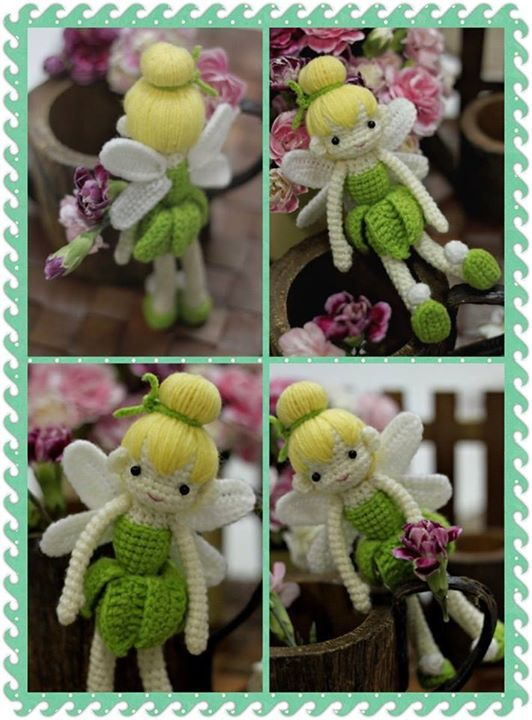 Tinkerbell Doll Free Crochet Pattern