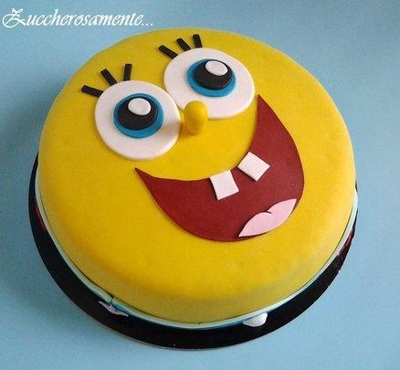 Spongebob cake  Cake by Zuccherosamente