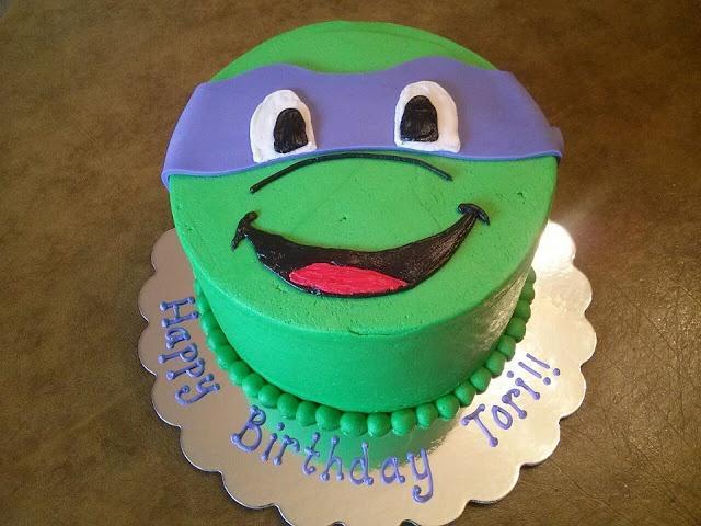 Simply Sweet: Teenage Mutant Ninja Turtle Donatello Cake