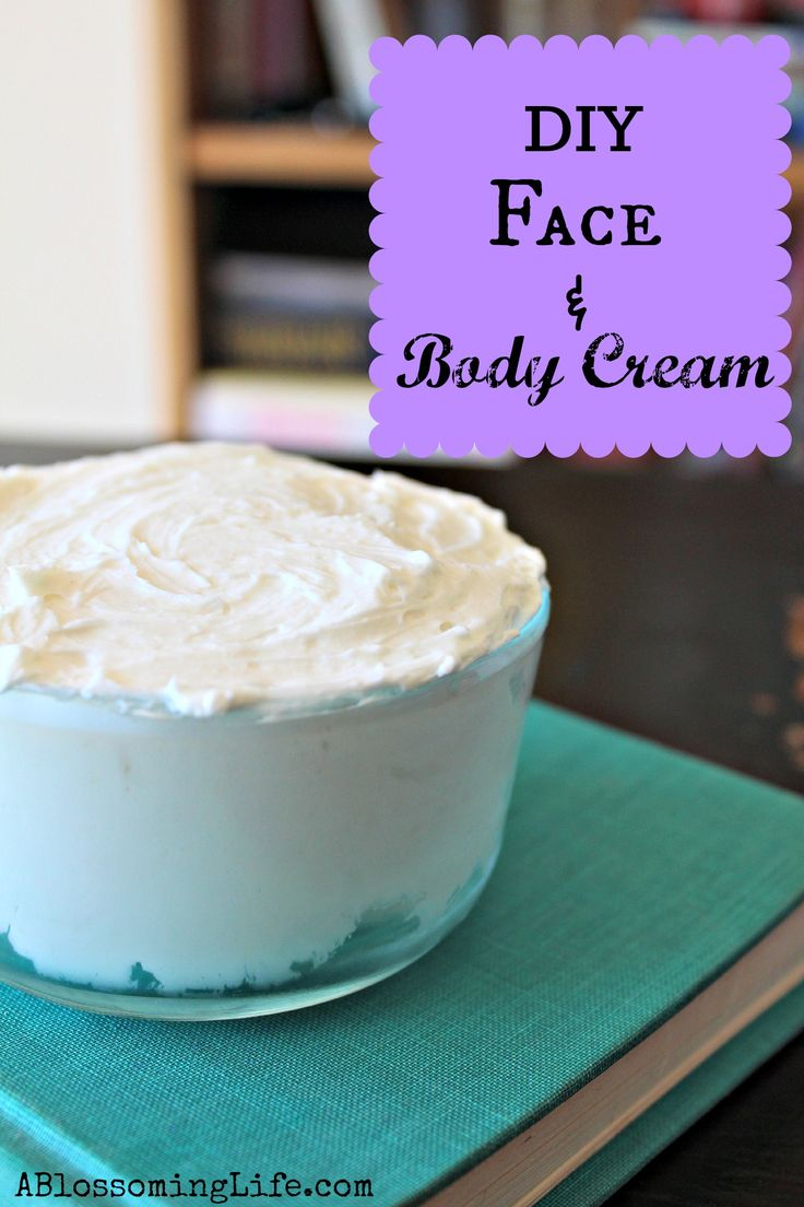 DIY Hydrating Face and Body Cream - bjl