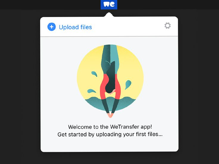 Wetransfer by Timo Kuilder #Design Popular #Dribbble #shots