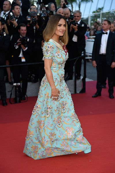 4fbefa0cefb Salma Hayek Photos Photos - Salma Hayek attends the 70th Anniversary of the 70th  annual Cannes Film Festival at Palais des Festivals on May 23