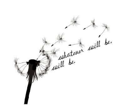 Dandelion Quote Tattoo