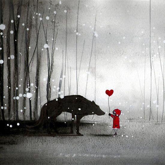 Das Herz sagt bleib , der Kopf schreit geh .