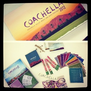 Coachella tickets came in!     #threadsence #coachella #music