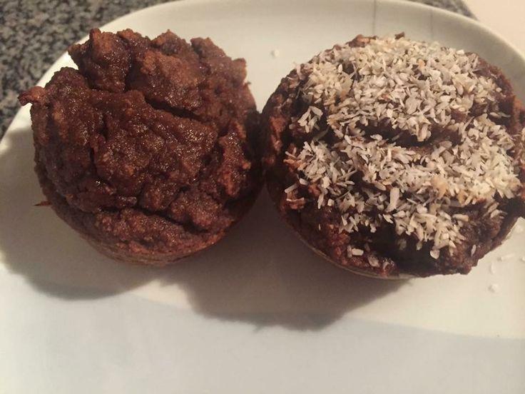 Queques de chocolate 75% e cacau sem açúcar