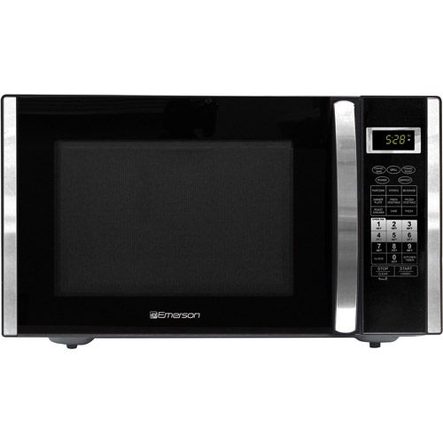 Refurbished Emerson 1.5 cu ft 1000-Watt Microwave with Convection Grill, Stainless Steel Price