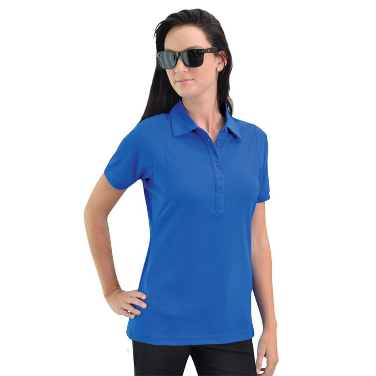 Jewel Polo BRAND: OGIO has self-fabric collar & OGIO jacquard neck tape and 6-button placket with OGIO dyed-to-match buttons