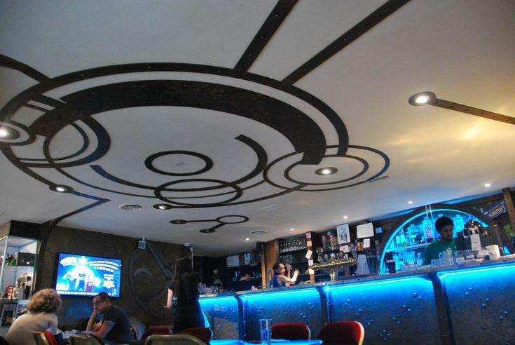 Le Dernier Bar Avant La Fin Du Monde -- Geeky Parisian cafe just steps from Notre Dame!