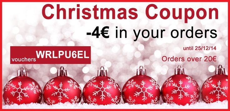 Christmas coupon -4€ from your orders  http://mygreekproduct.com/en/