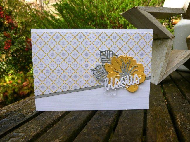 Coucou les filles ! Voici quelques fleurs pour fêter le retour des beaux jours. Pourvu que ça dure ;-) La première carte correspond à un...