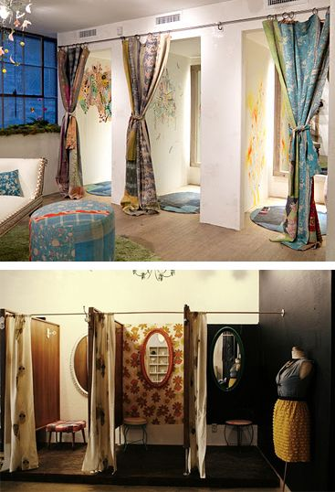Make your fitting rooms warm and inviting