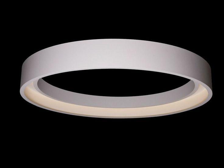 Lampada da soffitto a LED a luce diretta in alluminio HOOP Collezione Hoop by tossB