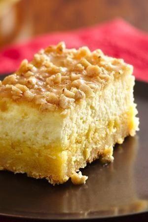 Crème Brûlée Cheesecake Bars - Prize-Winning Recipe 2010! Savor the same great taste of restaurant Crème Brûlée in an easy-to-make bar cookie.