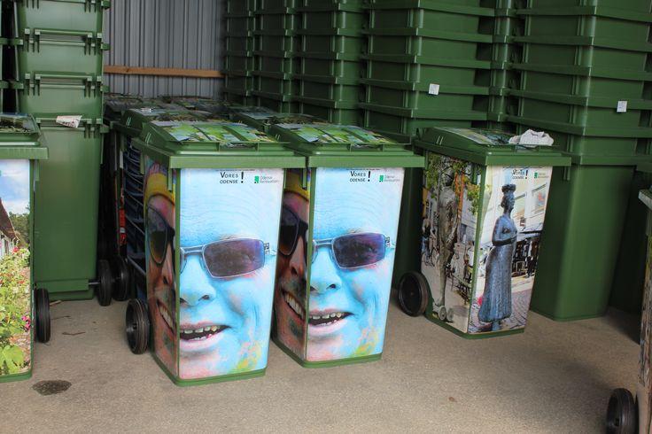 Affald er hot og sjovt ! Odense er vild med spas på spanden. Elsk dit affald
