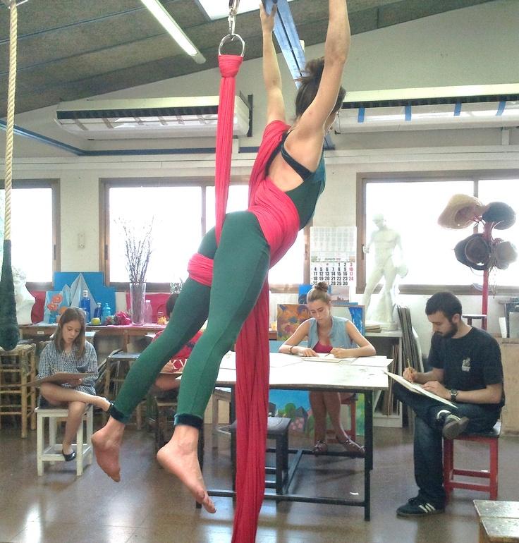 Model al natural, taller mitjans i grans  curs 2011/12   www.escolatrac.com