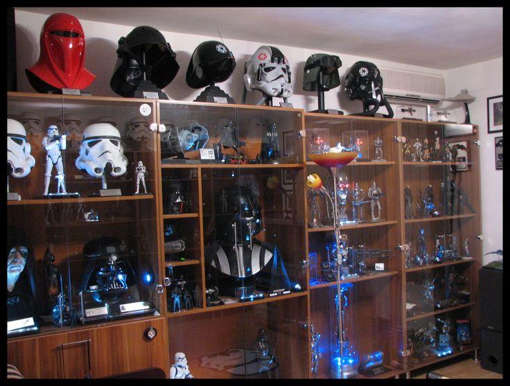 Man Cave Ideas Nerd : 88 best prop room images on pinterest star wars cabinets