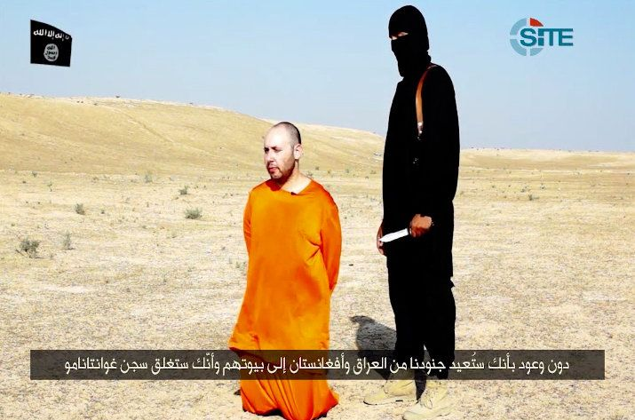 Video Claims to Show Beheading of U.S. Reporter Steven Sotloff by ISIS - NYTimes.com