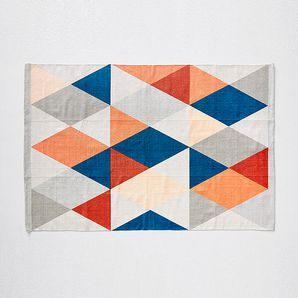 Great for any floor space in the home, our Kaleidoscope Floor Rug will add an instant pop of colour. Perfect for under tables, seating areas or simply...
