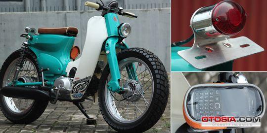Otosia.com: Modif C70: Honda Klasik Bergaya Street Cub Jepang