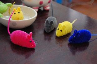 False Mouse Rat Squeak Noise Sound Pet Cat Kitten Dog Playing Toy 1pc Free Shipping