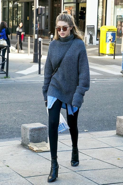 Gigi Hadid Masters The Art Of Casual Layering For Winter | Le Fashion | Bloglovin'