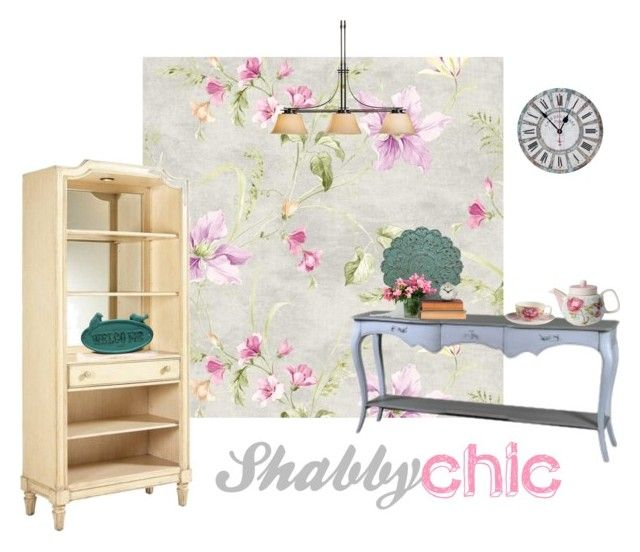 """""""Shabby Chic"""" by tarekzg on Polyvore featuring interior, interiors, interior design, hogar, home decor, interior decorating, Avery, Stratton Home Décor, Hubbardton Forge y Stanley Furniture"""