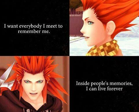 Dont worry, I'll never forget you Axel TAT