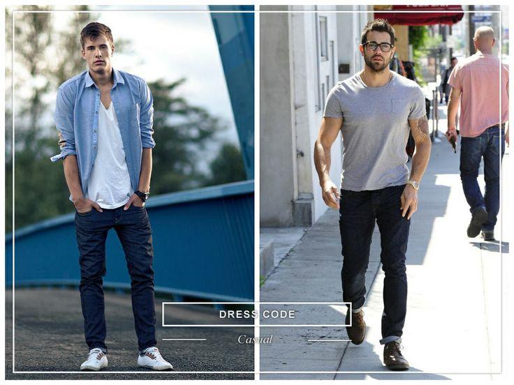 #dresscode #casual #man