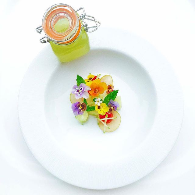 133 best plating images on pinterest food presentation food chef jason howard chilled melon coconut water and mint soup by summer flowerswater melonplate presentationfood fandeluxe Image collections